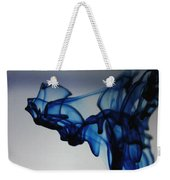 Blue Swirls Weekender Tote Bag