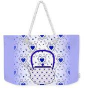 Blue Teapot - Kitchen Weekender Tote Bag