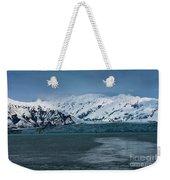 Blue Tidewater Glacier  Weekender Tote Bag