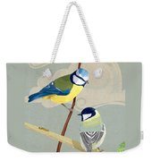 Blue Tit And Great Tit Weekender Tote Bag