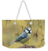 Blue Tit Bird II Weekender Tote Bag