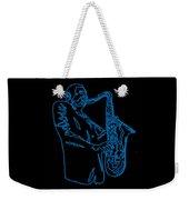 Blue Trane Weekender Tote Bag