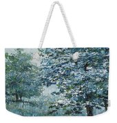 Blue Trees Weekender Tote Bag