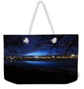 Blue Twilight Over The Charles River Weekender Tote Bag