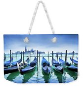Blue Venice Weekender Tote Bag