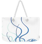 Blue Vine Weekender Tote Bag by Svetlana Sewell