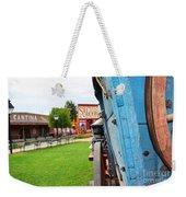 Blue Wagon 1 Weekender Tote Bag