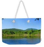 Blue Wall Lake Weekender Tote Bag