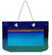 Blue Water Weekender Tote Bag