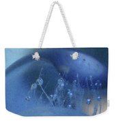 Blue Wave 1 Weekender Tote Bag