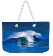 Blue Wave Weekender Tote Bag