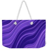 Blue Wave Weekender Tote Bag