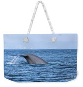 Blue Whale Tail Flop Weekender Tote Bag