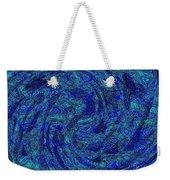 Blue Whirl Wind In The Sky Weekender Tote Bag