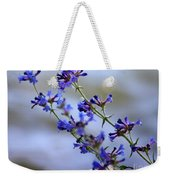Blue Wildflowers Over Rimrock Lake Weekender Tote Bag