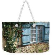 Blue Window Weekender Tote Bag