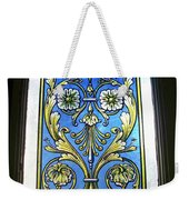 Blue Window Weekender Tote Bag