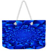 Blue Windows Abstract Weekender Tote Bag