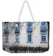 Blue Windows And Balconies Weekender Tote Bag