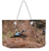 Blue Winged Teal Weekender Tote Bag