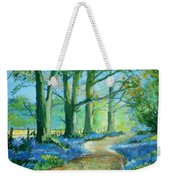 Bluebell Walk Weekender Tote Bag