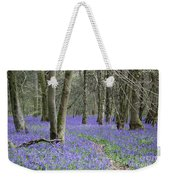 Bluebell Wood Effingham Surrey Uk Weekender Tote Bag