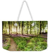 Bluebell Woods With Birds Flocking  Weekender Tote Bag