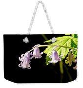 Bluebells Under The Sun Ray. Weekender Tote Bag