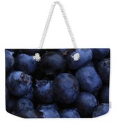 Blueberries Close-up - Horizontal Weekender Tote Bag