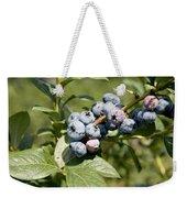 Blueberries On Blueberry Bush Weekender Tote Bag