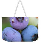 Blueberries On The Vine 2 Weekender Tote Bag