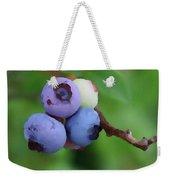 Blueberries On The Vine 3 Weekender Tote Bag