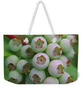 Blueberries On The Vine 9 Weekender Tote Bag