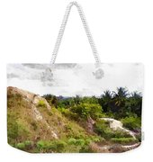 Blueberry Hill Weekender Tote Bag