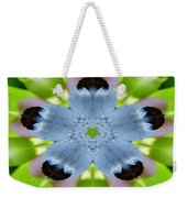 Blueberry Kaleidoscope Weekender Tote Bag