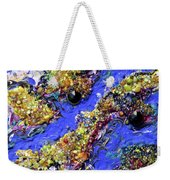 Blueberry Mash Weekender Tote Bag