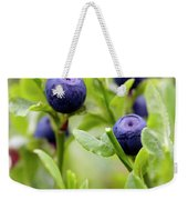 Blueberry Shrubs Weekender Tote Bag