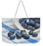 Blueberry - Still Life Weekender Tote Bag