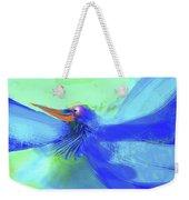Bluebird Of Happiness Weekender Tote Bag