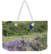 Bluebird Pair In Blickleton Weekender Tote Bag