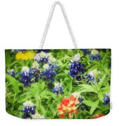Bluebonnet Bouquet Weekender Tote Bag