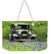 Bluebonnets And Fords Weekender Tote Bag