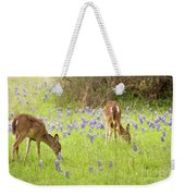 Bluebonnets And Whitetails Weekender Tote Bag