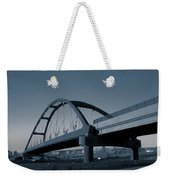 Blued Bridge Weekender Tote Bag