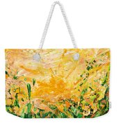 Bluegrass Sunrise - Lemon A-left Weekender Tote Bag
