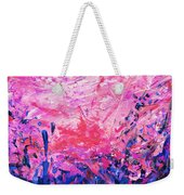 Bluegrass Sunrise - Violet A-left Weekender Tote Bag