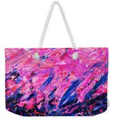 Bluegrass Sunrise - Violet B-right Weekender Tote Bag