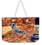 Bluejay Profile Weekender Tote Bag