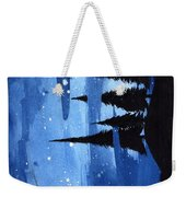 Bluenight Weekender Tote Bag