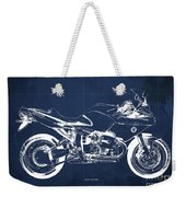 Blueprint For Men Office Decoration. R1100s Blue Background Weekender Tote Bag
